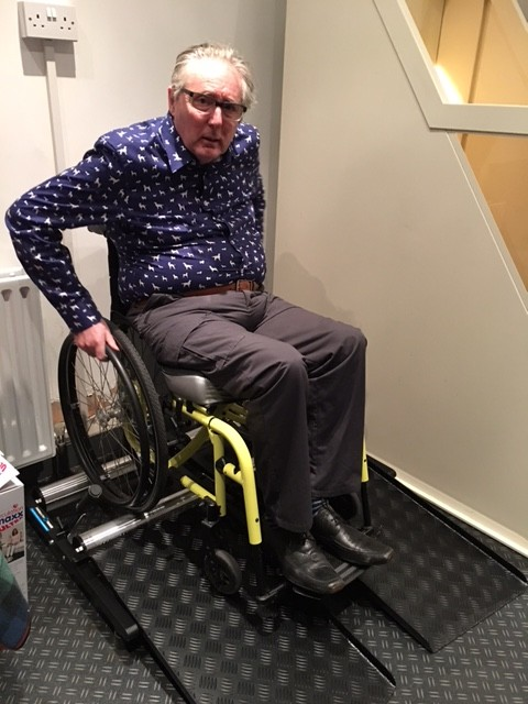 Wheelchair training rollers Keith